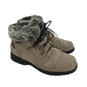 Vintage Sporto Faux Fur Insulated Leather Boots